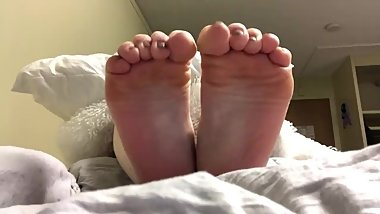 White college girls soles