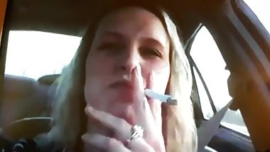ME DRIVING AND SMOKING ''ENJOY BITCHES''