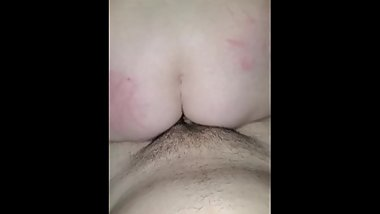 Girlfriend rides my hard cock pov to send to her ex