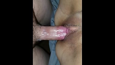 Hottest juiciest creampie you'll ever see. Real spur of the moment video