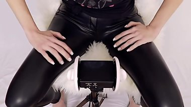 [ASMR] Leather Pants Sounds