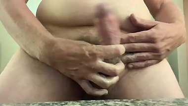 Love stroking my cock