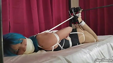 Asia Swimsuit Hogtied