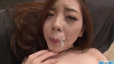 Maki Mizusawa loves having jizz on her - More at javhd.net