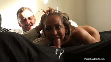 PASCALSSUBSLUTS - Brutal Audition For Stripper MILF