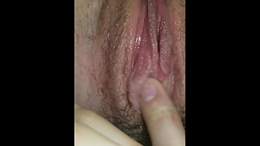Bored and horny. Making myself cum and squirt