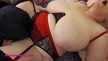 Sally's first time proper fuck on camera