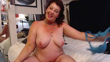 V 294 special custom sissyboy wears a bra with dawn