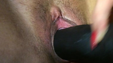 BBC dildo play
