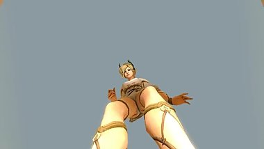 Giantess Mercy footcrush (Older Quality)