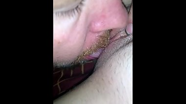 Hot bitch creams my face and has body shaking orgasms getting eaten out