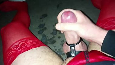 Thick Uncut Cock Edging Challenge