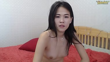 Two hot Asians eat each other out