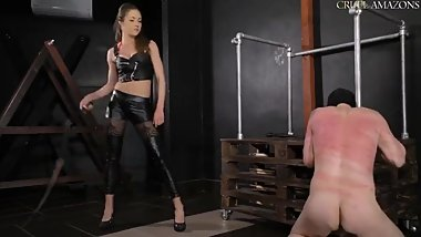 mistress Lucy violent whipping