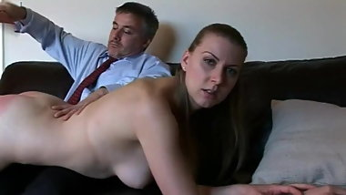 Belinda Lawson is Asking for it! Jokari Spanking