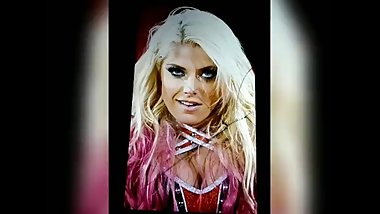 Alexa Bliss Cum Tribute #1