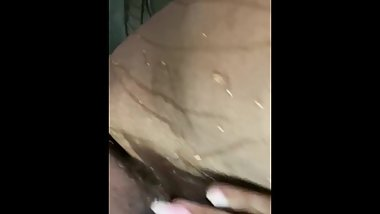 Preacher Wife  Squirting outside before church