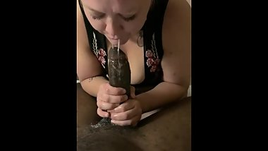 Misty eating up my bbc