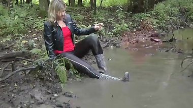SEXY IN THE MUD (CLOTHED)