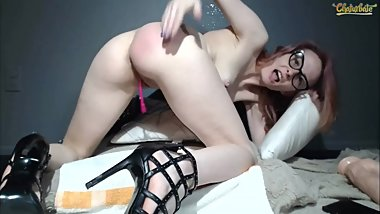 justmichelle Sparking and anal play