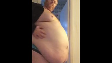 Superchub with his tight cloth