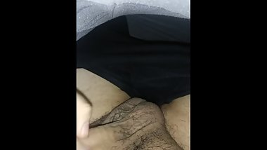 Uncut latino boy in bed