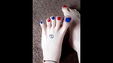 Red & Blue Toes Compilation  Summer  2019