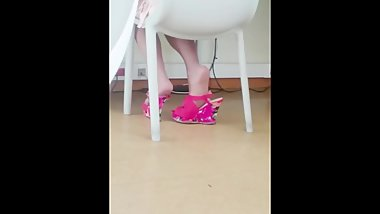 Candid Nylon Red Shoeplay