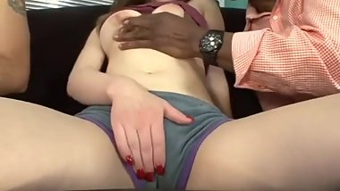 Big black cock cuckold wife share husband watch