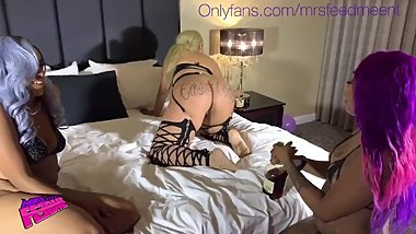 @mrsfeedmeent wild birthday Pornstar threesome trailer