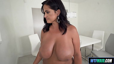 Super thick latina maid