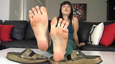 Lick and worship Andis sandals and feet