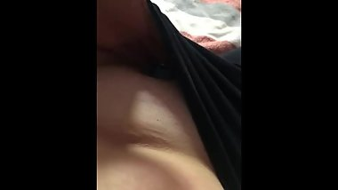 Squirting in leggings! Wet creamy mess!