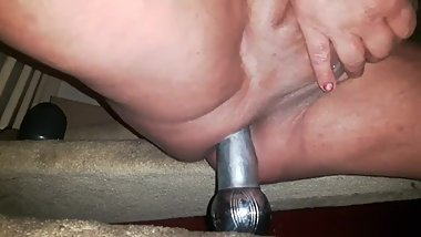 SISSY MALE BIZARRE LARGE COCK DEEP ANAL GAPING HORSE DILDO EXTREME NEWHALF