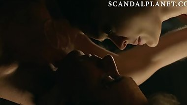 Bella Heathcote Nude Bondage Scene On ScandalPlanet.Com