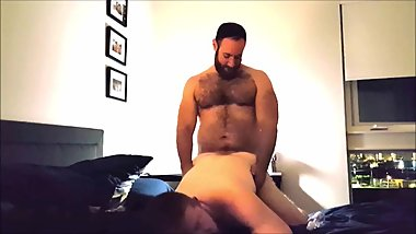 FUCKING this sexy GINGER muscle cub....then CUMMING 9 times!!!!!