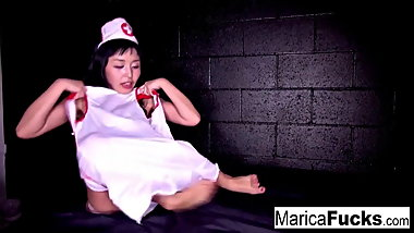 Hot nurses fucking in a surrreal type scenario