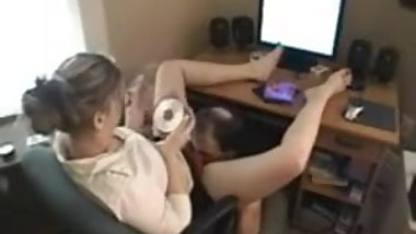 Lucky guy gets a stinky face farting session