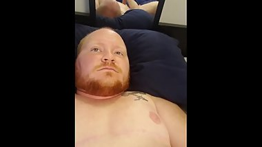 ftm guy jerks off with prosthetic part 1