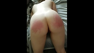 Cheating wife getting fisted