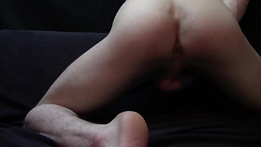 long masturbation with nice cumshot on end