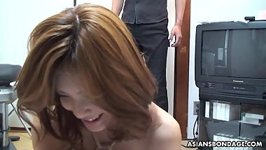 Haruka Otsuka was caught masturbating and got whipped while