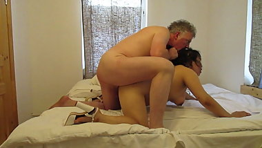 Thai BBW Mature British Bull Passionate Sex
