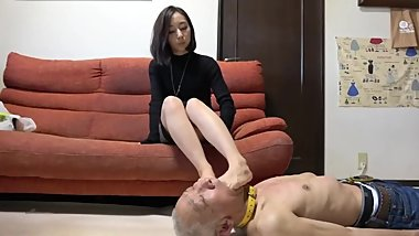 japanese feet domination